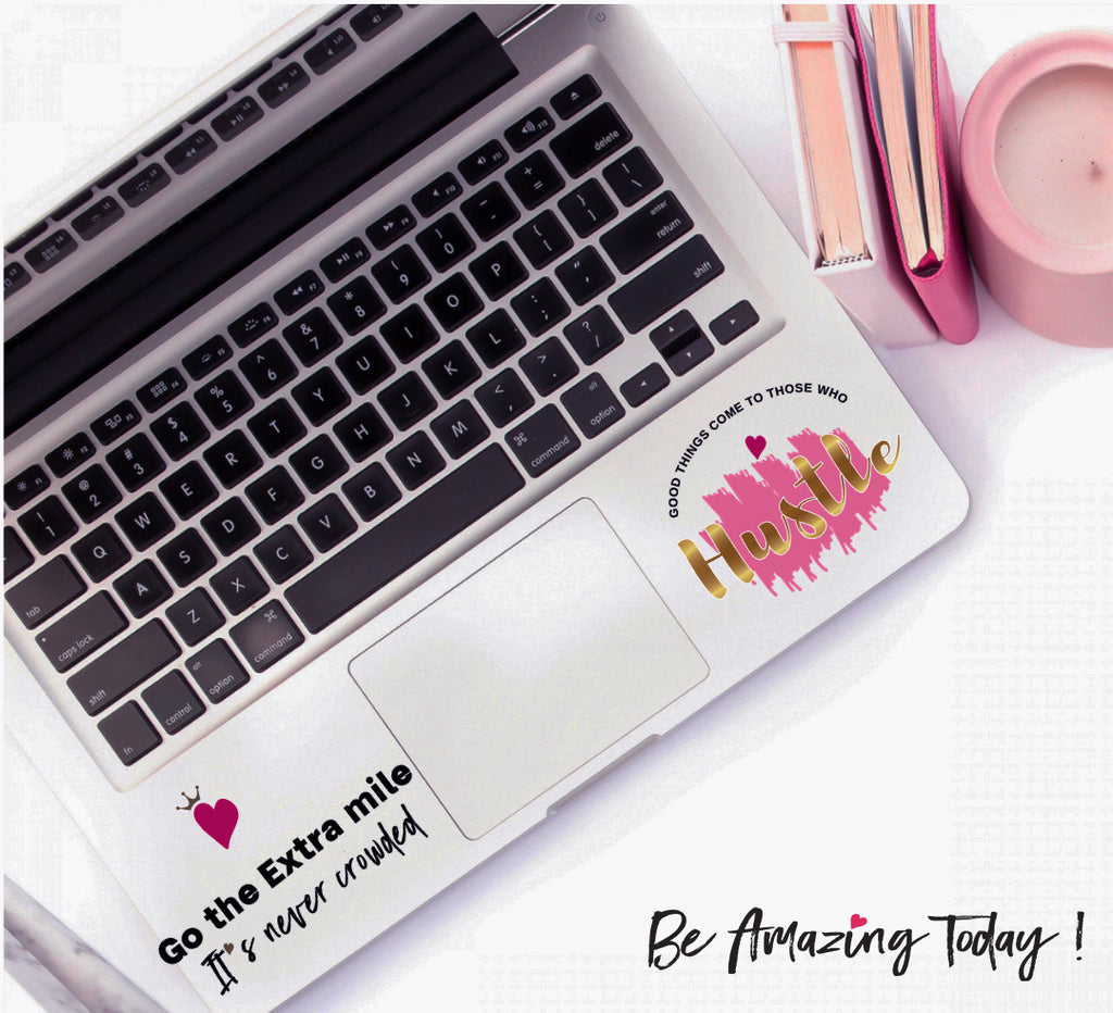 Empowering Decals for Office Desks and Laptops
