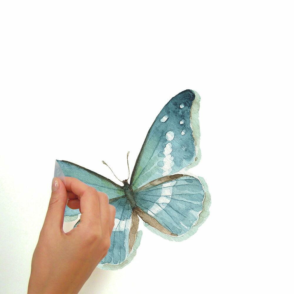 Lisa Audit Butterfly Quote Wall Decals are easy to peel, stick and remove