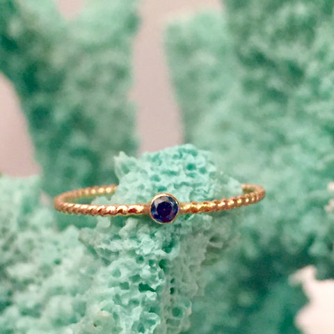 Something Blue Ring
