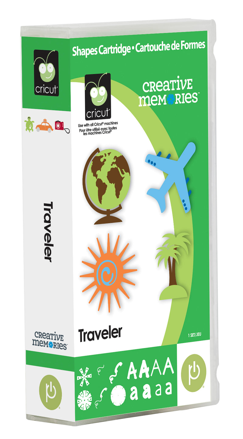 Traveler Cricut Cartridge by Creative Memories