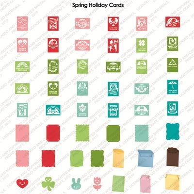 Spring Holiday Cards Cricut Cartridge