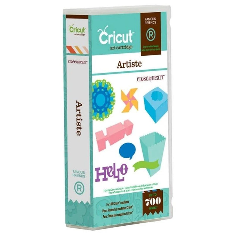 Artiste Cricut Cartridge by Close To My Heart
