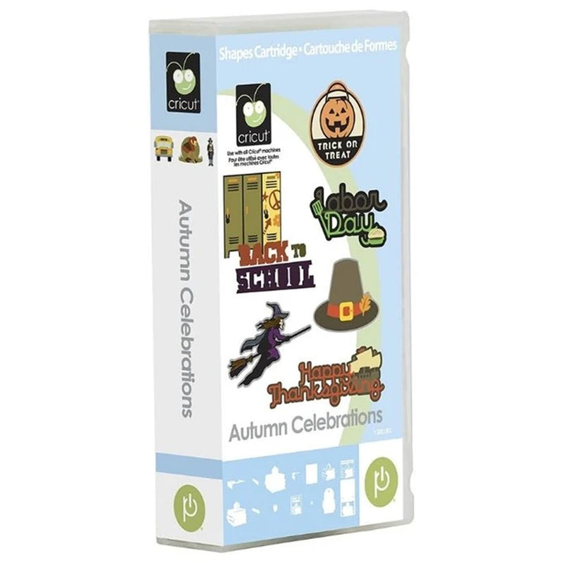 Autumn Celebrations Cricut Cartridge