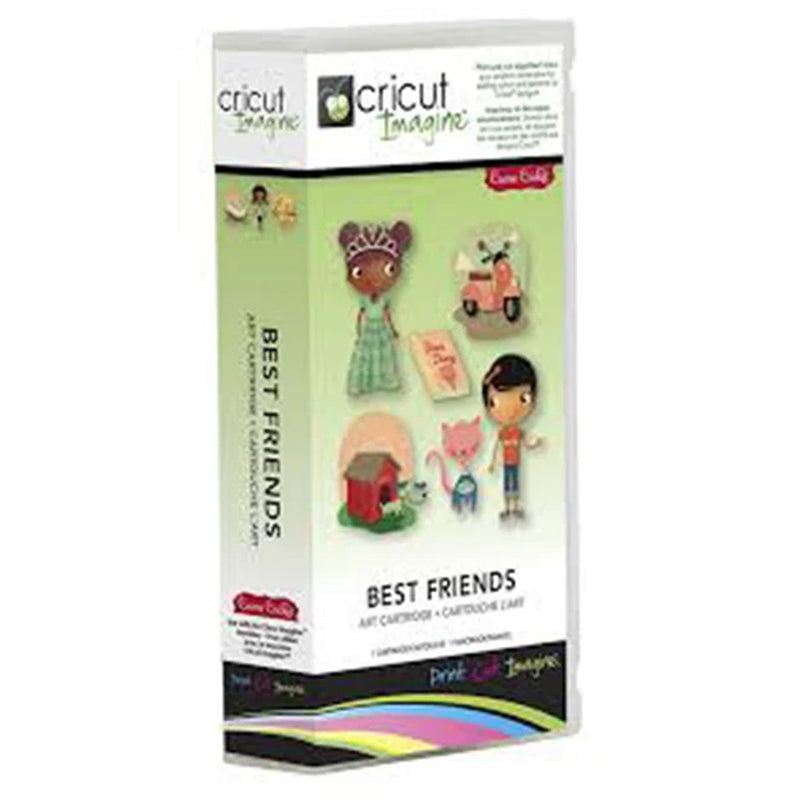Best Friends Cricut Imagine Cartridge