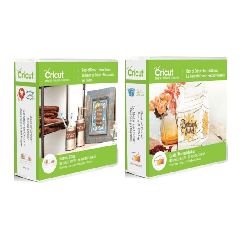 Best of Cricut® Party & Gifting and Home Decor Cricut® Cartridge Bundle