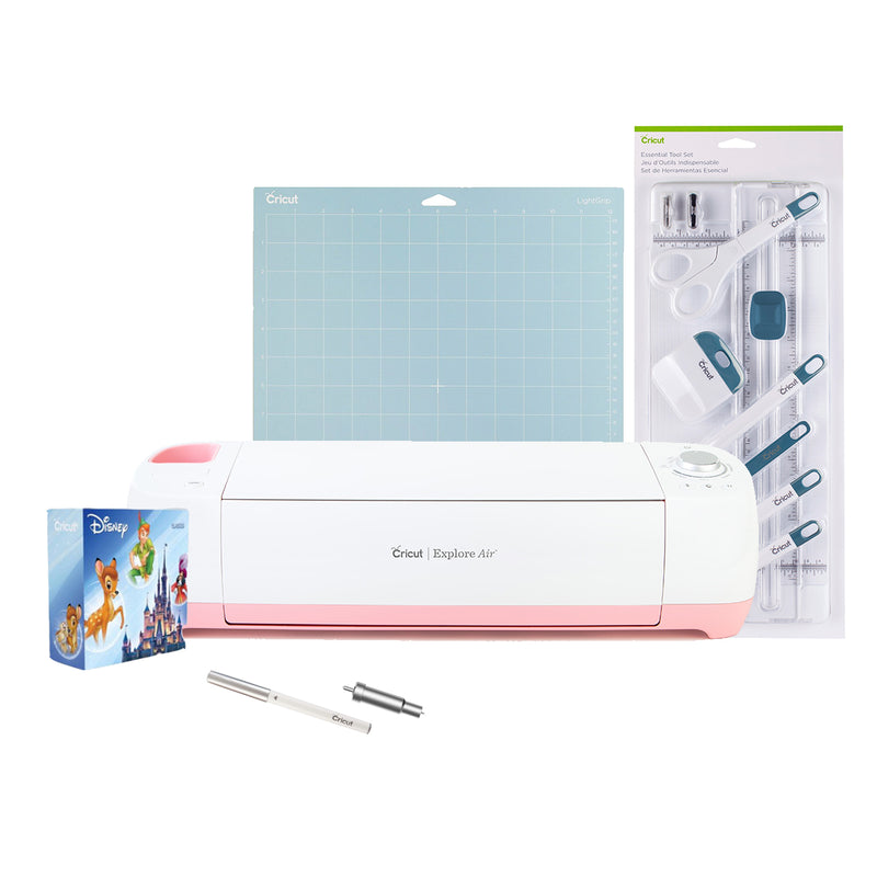 Cricut Explore Air Pink Poppy Bundle