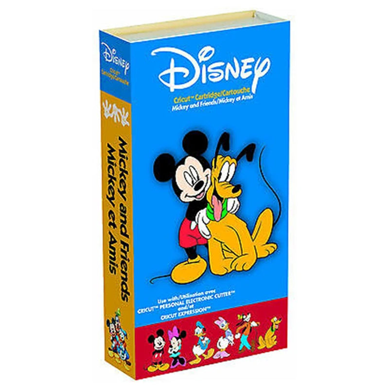 Disney Mickey and Friends Cricut Cartridge