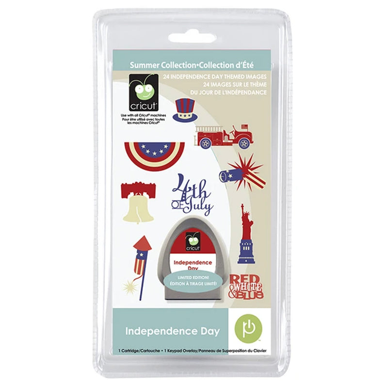 Independence Day Cricut Seasonal Cartridge