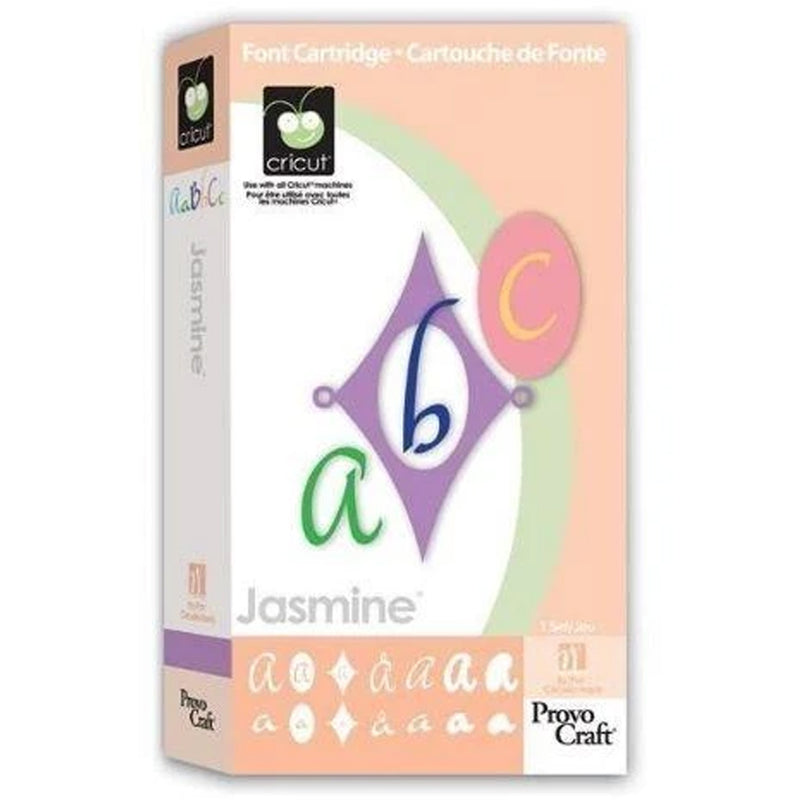 Jasmine Cricut Cartridge