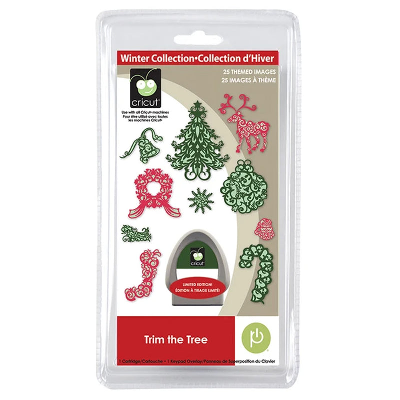Trim the Tree Cricut Seasonal Cartridge