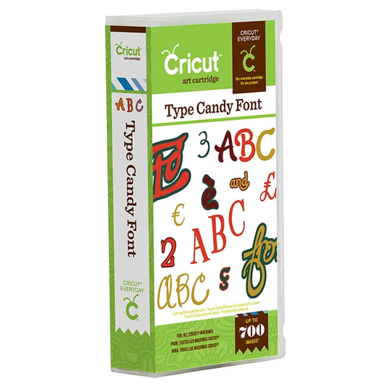Type Candy Cricut Cartridge