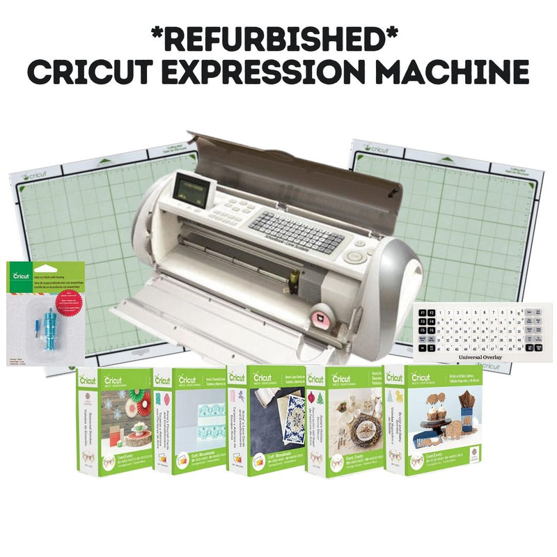 *Refurbished* Cricut Expression 12x12 Die Cutting Machine + Anna Griffin Bundle