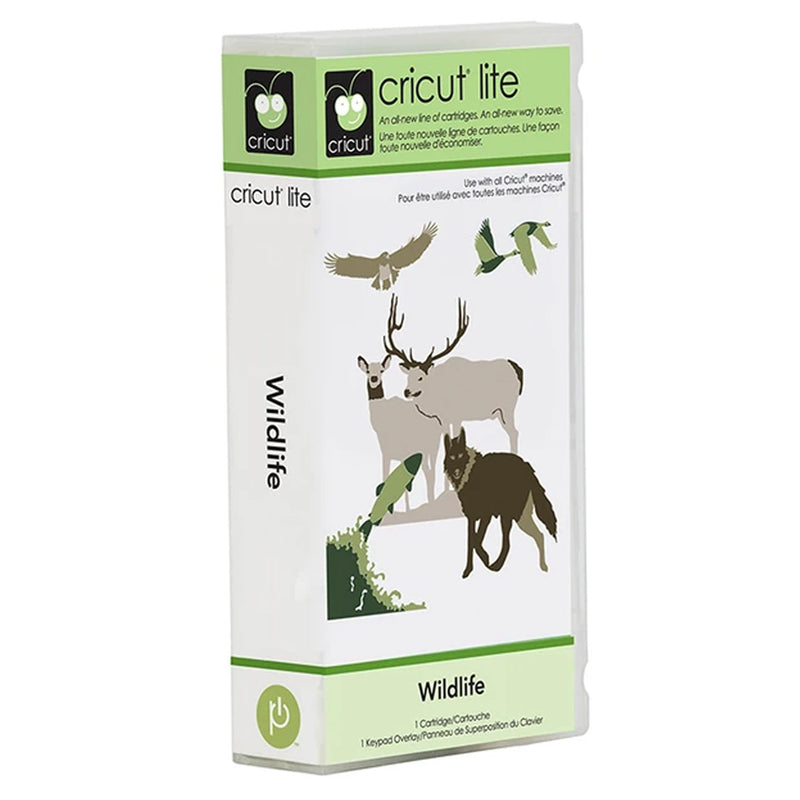 Wildlife Cricut Lite Cartridge