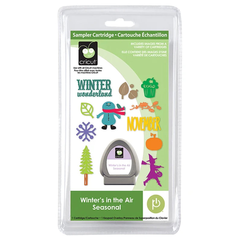 Winters in the Air Seasonal Cricut Cartridge
