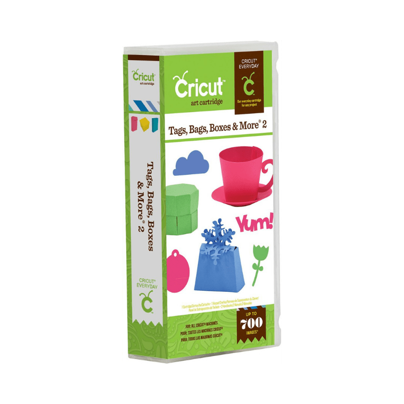 Tags, Bags, Boxes & More 2 Cricut Cartridge
