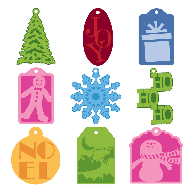 Very Merry Tags SM Seasonal Cricut Cartridge