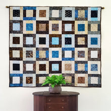 Load image into Gallery viewer, Modern Square Blocks 1 quilt
