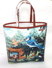 Load image into Gallery viewer, Blue Jay Market Bag