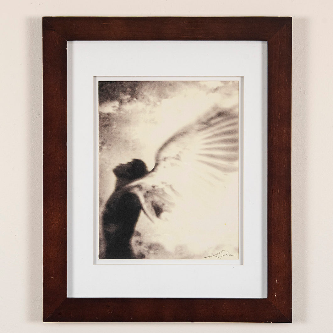 "Framed digital archival print of an angel image created for the PBS special program ""Talking to Your Angels"""