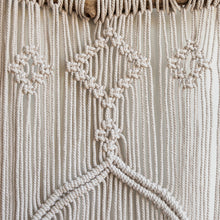 Load image into Gallery viewer, Large Macramé Wall Hanging on a Tree Branch