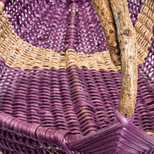 Load image into Gallery viewer, Large Purple Basket