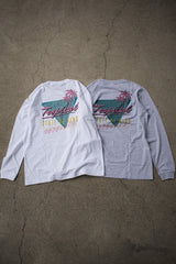 TROPICAL STATE OF MIND L/S TEE - KIBACOWORKS