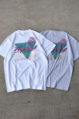 TROPICAL STATE OF MIND S/S TEE - KIBACOWORKS