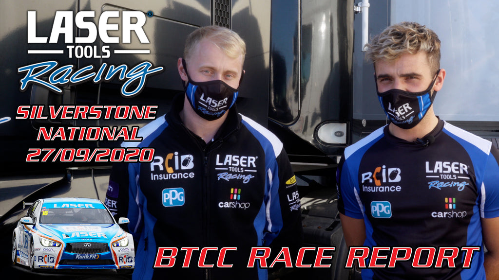 Laser Tools Racing Silverstone video review.