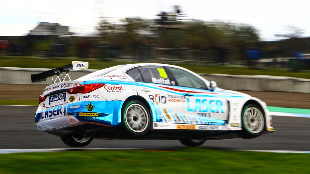 Moffat maintains BTCC progress on home soil
