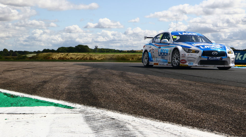 Improved pace for the Infiniti Q50 at Thruxton