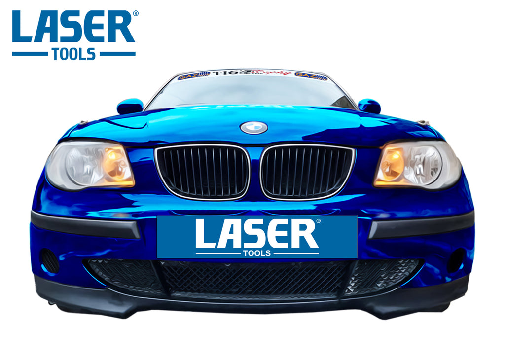 Laser Tools on the 750 Motor Club's BMW 116 Trophy series