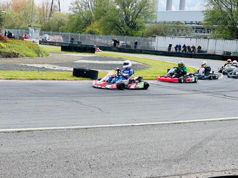 Cody Eustice in action at Rye House Raceway