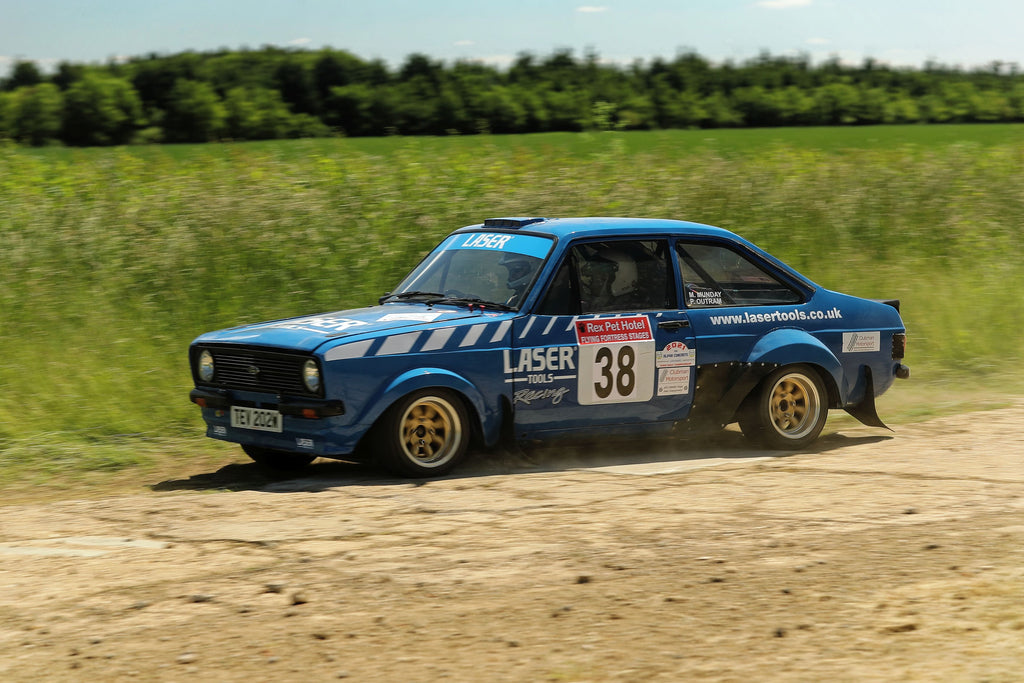 Peter Outram & Mick Munday Flying Fortress Rally 2021