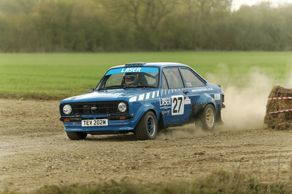Special Stage 6 - Peter Outram's Ford Escort @ Harold Palin Memorial Rally