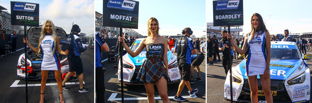 On the grid with Laser Tools Racing