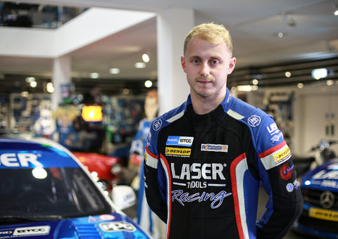 Ash Sutton joins Laser Tools Racing