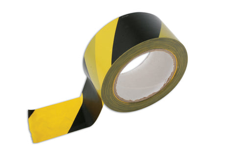 Hazard Warning Tape 33m x 50mm