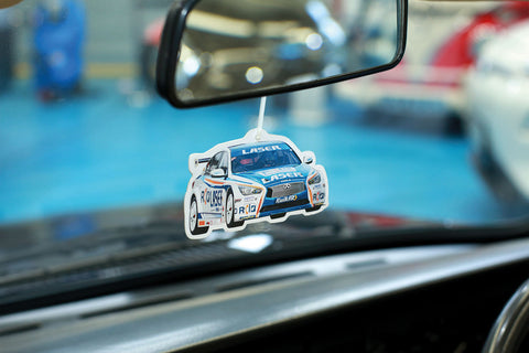 Laser Tools Racing Air Freshener