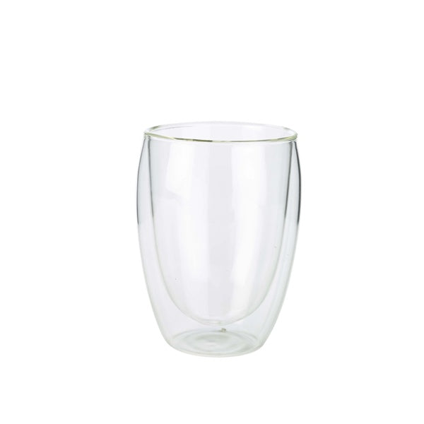 Double Walled Coffee Glass 35cl / 12.25oz (Pack of 6)