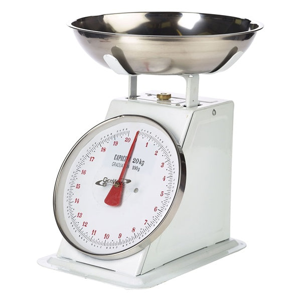 Analogue Weighing Scales 20kg Graduated in 50g