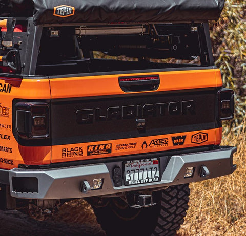 Rebel Off Road Summit Series Rear Bumper JT Gladiator