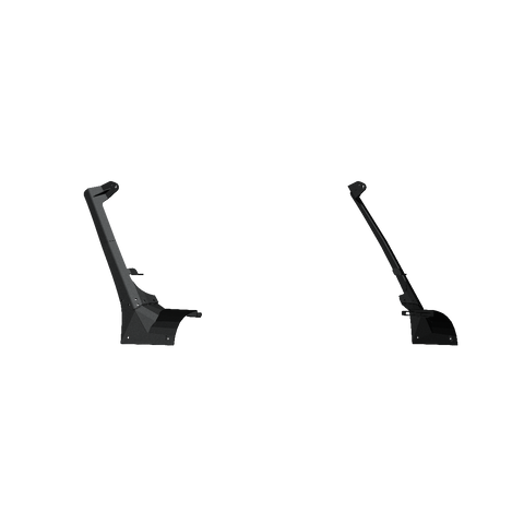 Stealth A-Pillar Light Mounts 52.25 Inch RIGID Adapt Array plus 1 lower mount: Textured Black