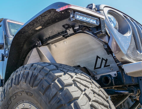 Jeep JL/JT Quick-Release Front Inner Fenders