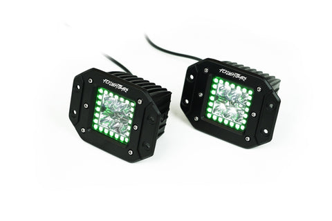 RGB High Output Flush Mount Pods