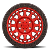 Black Rhino Primm Beadlock Candy Red with Black Ring