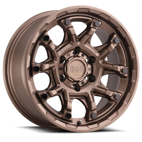 Black Rhino Ark Bronze with Gloss Black Bolts