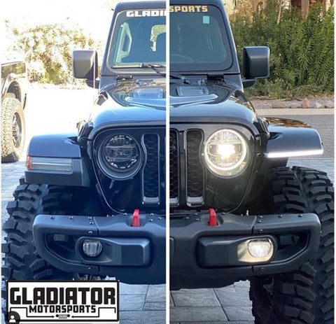 Jeep JL/JT High-Line Fender Brace with Daytime Running Lights