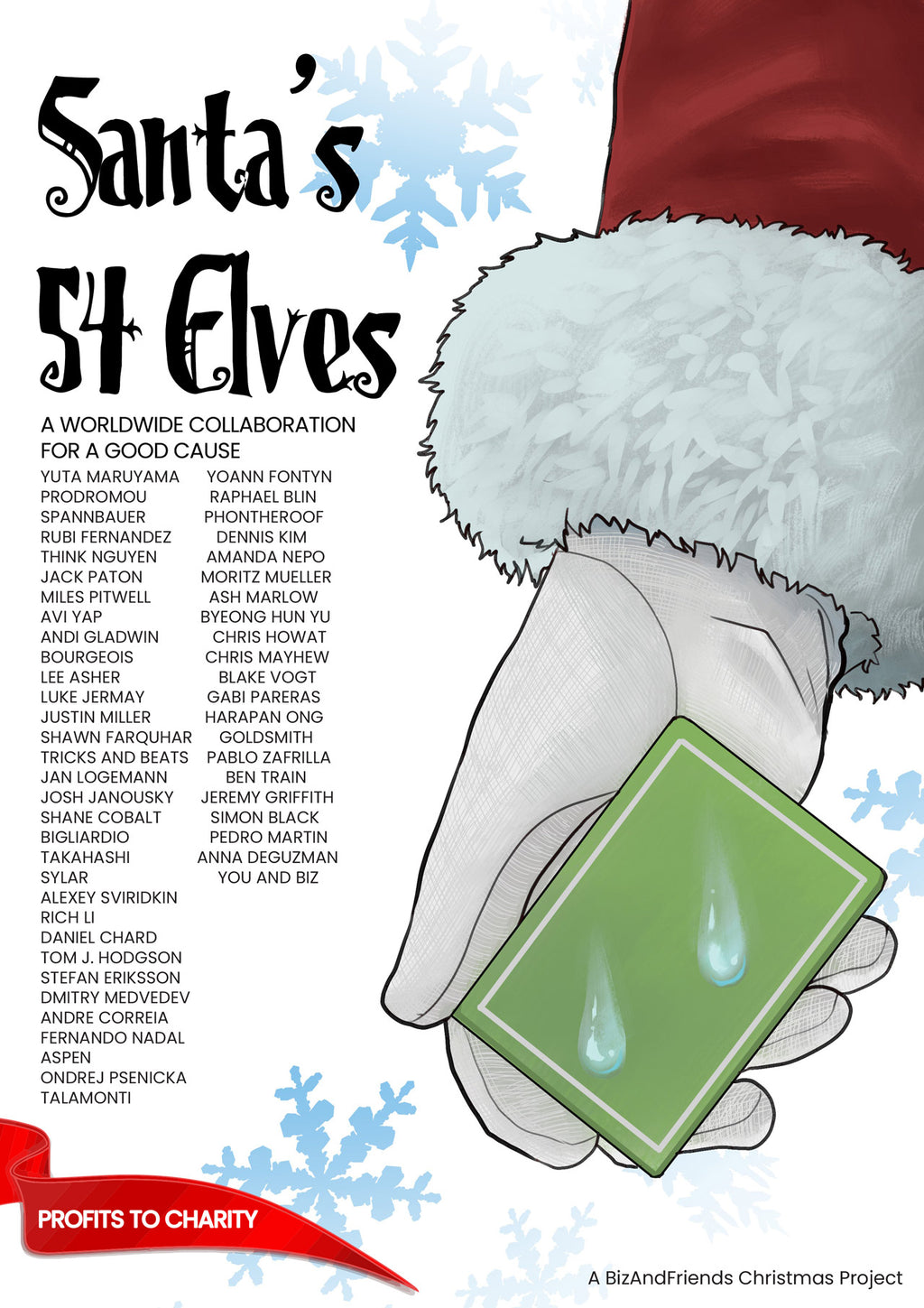 Santa's 54 Elves | LIMITED Edition Book