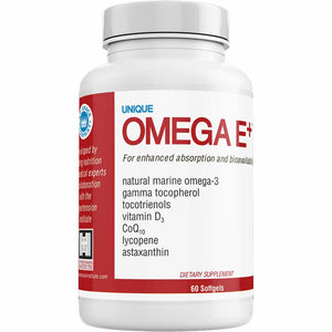 Load image into Gallery viewer, UNIQUE OMEGA E+® – 60 Softgels