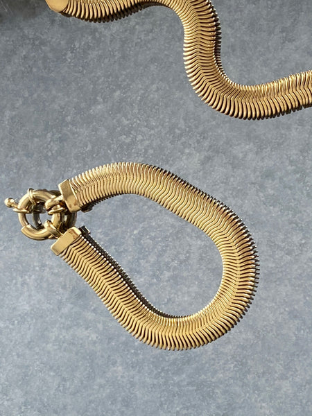 OROTON Gold Statement Modernist Bracelet